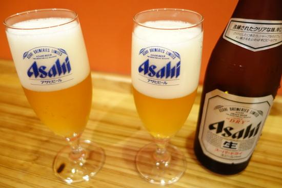 ぐびぐび生ビール