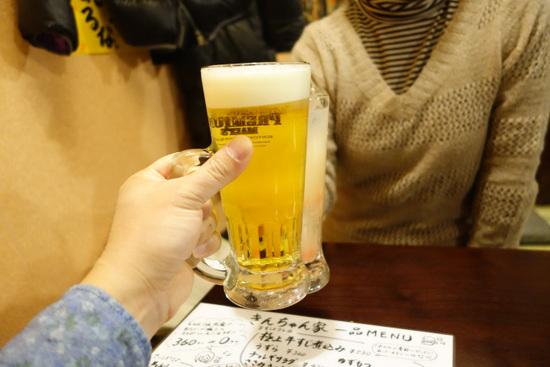 きんちゃん家ビール