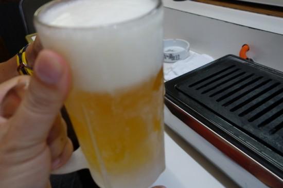 牛ちゃん 生ビール
