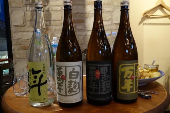 渡邊酒造萬年