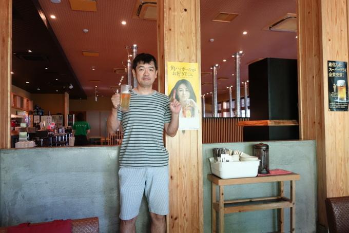 井川遥ビールポスター
