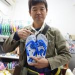チンダミ屋さんの島ぞうりを息子へのお土産に購入しました(沖縄県那覇市)